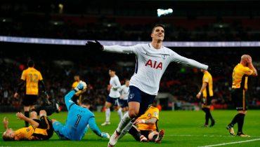 «Тоттенхэм» прошел в 1/8 финала Кубка Англии