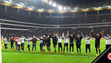 «Айнтрахт» испепелил «Майнц» в 1/4 финала Кубка Германии