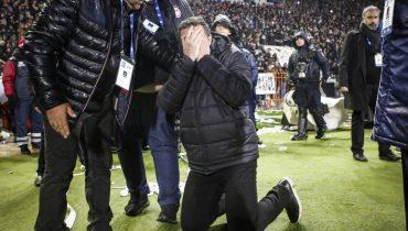 Встреча ПАОК и «Олимпиакоса» сорвана по вине фанатов