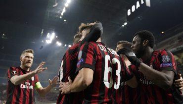 «Милан» дома победил «Лудогорец», а дортмундская «Боруссия» выстрадала ничью с «Аталантой»