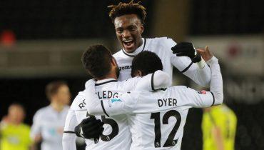 «Суонси Сити» покуражился в Кубке Англии, забив 8 голов «Ноттс Каунти»