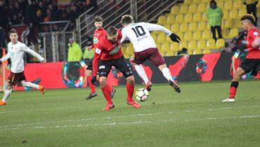 Клуб третьего французского дивизиона вышел в 1/2 финала Кубка страны