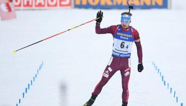 Антон Шипулин принес российским биатлонистам первую победу в этом сезоне