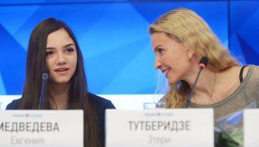 Евгения Медведева и Этери Тутберидзе не подтвердили информацию о конфликте