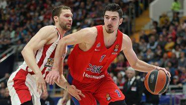 ЦСКА дома разделался с «Олимпиакосом» и обеспечил себе победу в регулярном чемпионате Евролиги