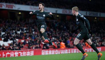 «Манчестер Сити» снова деклассировал «Арсенал» в Лондоне