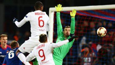 Марсело принес «Лиону» победу в игре с ЦСКА