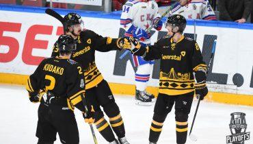СКА и ЦСКА синхронно вышли в полуфинал Западной конференции, обеим командам потребовалось четыре игры