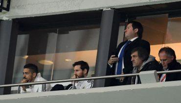 Лео Месси не смог досмотреть матч Испания – Аргентина