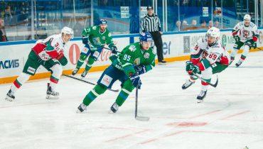 «Салават Юлаев» справился с «Ак Барсом» в «зелёном» дерби