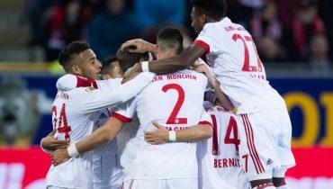 «Бавария» отправила в ворота «Фрайбурга» четыре безответных мяча