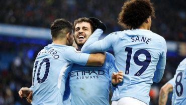 «Манчестер Сити» выиграл у «Челси» благодаря голу Бернарду Силвы