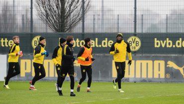 Усейн Болт потренируется вместе с футболистами дортмундской «Боруссии»