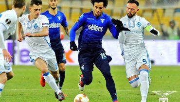 Киевское «Динамо» дома не справилось с «Лацио», а «Марсель» вновь был сильнее «Атлетика»