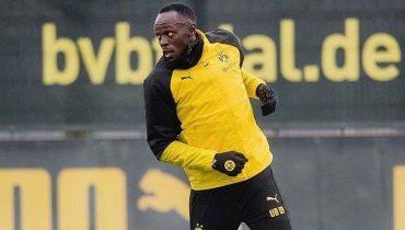 Усэйн Болт после тренировок в дортмундской «Боруссии»: «Никогда столько не бегал»
