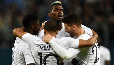 ФИФА проанализирует информацию о расистских выкриках на матче между сборными России и Франции