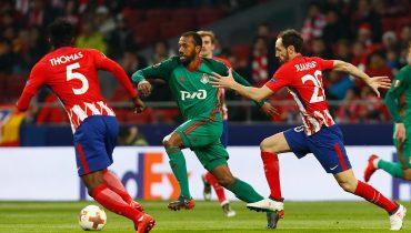 Будьте добры пару голов и пенальти за 3,4. Прогноз на матч «Локомотив Москва» — «Атлетико Мадрид»
