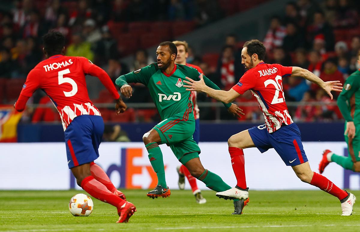 Прогноз на матч Атлетико Мадрид - Локомотив Москва 08 марта 2018