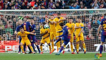 Лионель Месси забил 600-й гол в карьере и принес «Барселоне» победу над «Атлетико»