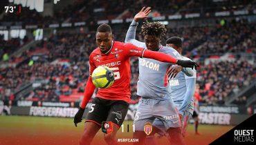 «Монако» потерял очки в игре против «Ренна»