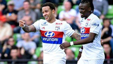 «Лион» покуражился в матче с «Метцем», а «Марсель» не смог обыграть «Монпелье»