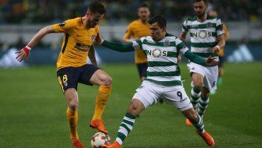 «Спортингу» не хватило сил додавить «Атлетико» в Лиссабоне
