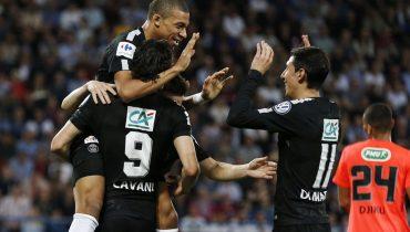 Два гола Килиана Мбаппе помогли ПСЖ пробиться в финал Кубка Франции
