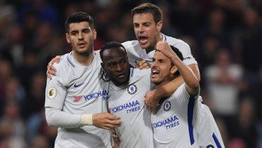 «Челси» одолел «Бёрнли» на выезде за счет гола Виктора Мозеса