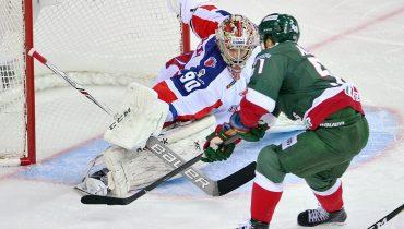 «Ак Барс» снова одолел ЦСКА на своем льду