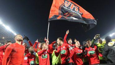 Команда третьего французского дивизиона сыграет в финале Кубка страны