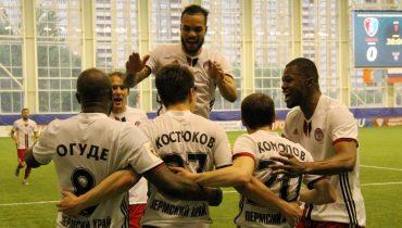«Амкар» второй раз одолел «Тамбов» и решил вопрос с пропиской в РФПЛ