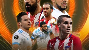 «Атлетико» и «Марсель» сыграют в финале Лиги Европы