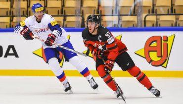 Канадцы завершили игру с Южной Кореей с неприличным счетом