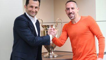 Франк Рибери останется в Мюнхене еще на один сезон