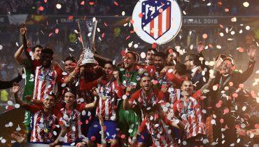 «Атлетико» без проблем взял Лигу Европы