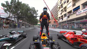 Гран-при Монако завершилось триумфом Риккардо
