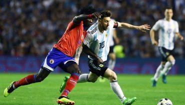 Месси хет-триком прошелся по сборной Гаити