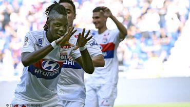 «Лион» выиграл восьмой матч подряд в Лиге 1