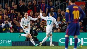 «Реал» отыгрался в противостоянии с «Барсой» на «Камп Ноу»