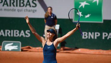 Мария Шарапова преодолела сопротивление Донны Векич во втором круге «Ролан Гаррос»