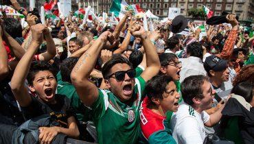 Болельщики сборной Мексики случайно спровоцировали землетрясение