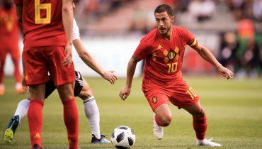 Бельгийские футболисты показали, как обыгрывать египтян