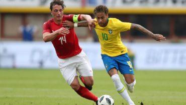 Бразильцы показали, как обыгрывать австрийцев, а Неймар повторил достижение Ромарио
