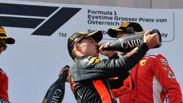 Ферстаппен впервые выиграл Гран-при в этом сезоне