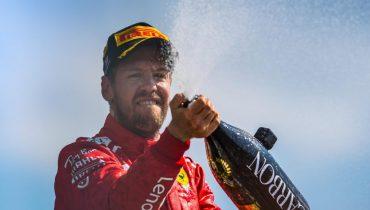 Феттель — триумфатор Гран-при Великобритании, Сироткин — во втором десятке