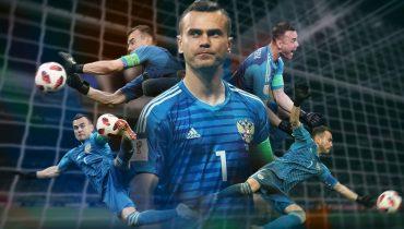 Акинфеев отобрал у Смолова звание самого сексуального игрока сборной