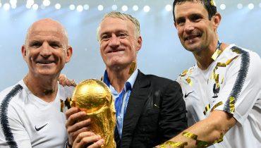 Дешам: «Мы не выиграли бы ЧМ-2018, если бы победили на Евро-2016»