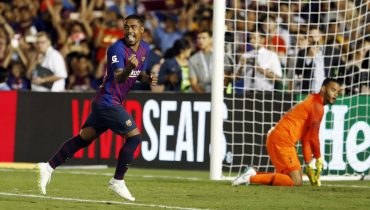 «Барселона» едва не упустила победу в игре с «Тоттенхэмом»