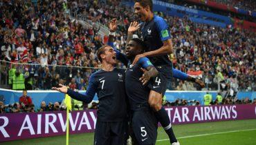 Французы благодаря голу Умтити впервые за 12 лет сыграют в финале ЧМ
