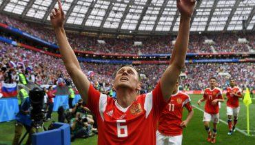 Черышев вошел в пятерку главных открытий ЧМ-2018 по версии ФИФА